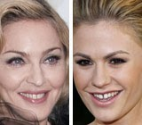 The Material Girl and the True Blood Star Flaunt Distinctive Smiles