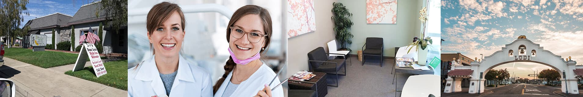Modern Dental & Implants Office Collage Photo